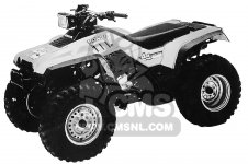 Honda TRX350 FOURTRAX 4X4 1987 H USA