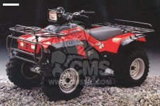 Honda TRX350D FOURTRAX 1987 H ITALY SUL