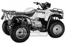 honda trx450es fourtrax foreman es 1998 w usa parts lists and rh cmsnl com