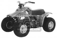Honda TRX70 FOURTRAX 70 1986 G USA