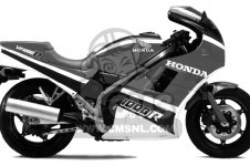 Honda VF1000R 1985 F USA CALIFORNIA