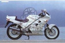 Honda VFR750F 1988 ENGLAND   MKH