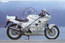 Honda VFR750F INTERCEPTOR 1988 J ENGLAND   MKH