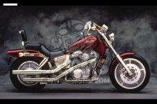Honda VT1100C SHADOW 1988 J ITALY   KPH