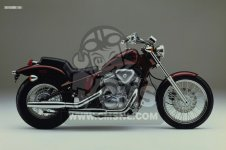 Honda VT600C SHADOW 1988 (J) CANADA / KMH parts