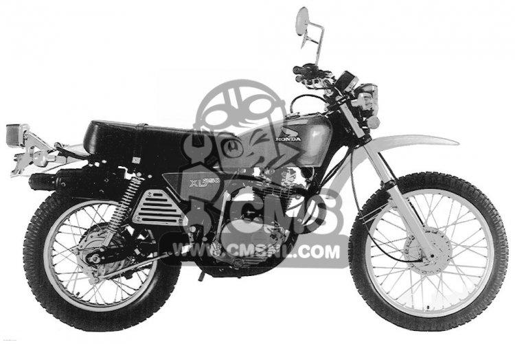 Honda XL250 MOTOSPORT 1976 USA