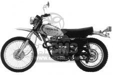 Lenkergriffe offen Honda XL250 S 1978-1981