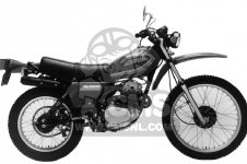 Honda XL250S 1980 A USA