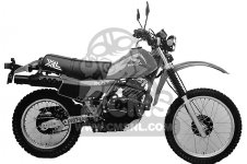 XL500R 1982 (C) USA
