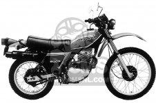 XL500S 1981 (B) USA