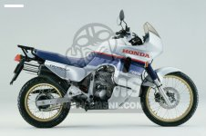 Honda XL600V TRANSALP 1987 H ENGLAND