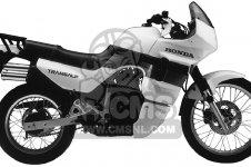Honda XL600V TRANSALP 1989 USA