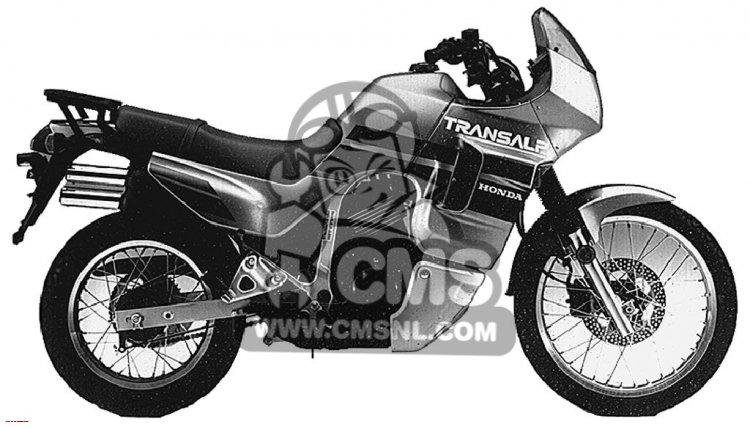 XL600V TRANSALP 1990 (L) USA