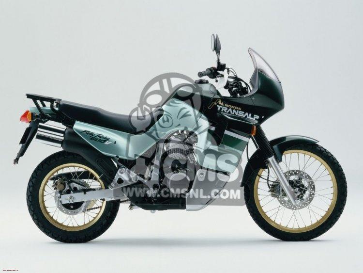 XL600V TRANSALP 1993 (P) GERMANY / 27P