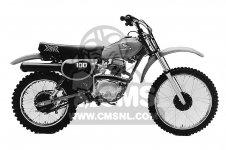 Honda XR100 1981 (B) USA parts