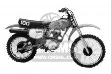 Honda XR100 1982 (C) USA parts
