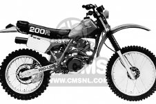 honda xr200r 1982 c usa parts lists and schematics rh cmsnl com