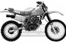 XR350R 1984 (E) USA