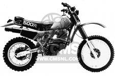 XR500R 1981 (B) USA