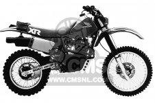 XR500R 1983 (D) USA