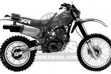 XR500R 1984 (E) USA
