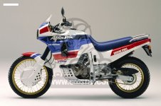 Honda XRV650 AFRICA TWIN 1989 SWITZERLAND   HSQ