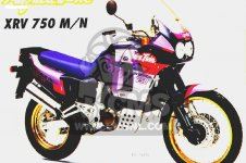 Honda XRV750 AFRICA TWIN 1992 GERMANY