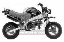 Honda ZB50 MONKEY R