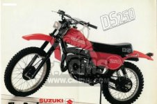 Suzuki DS250 1980 T USA E03