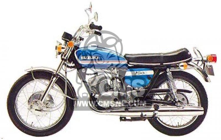 Suzuki T250 information