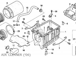 CASE,AIR CLEANER