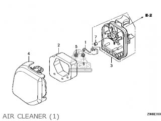(17231-Z0H-010) COVER,AIR CLEANER