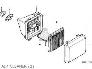 (17231-ZM0-040) COVER,AIR CLEANER