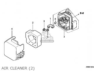 (17231-Z0H-811) COVER,AIR CLEANER