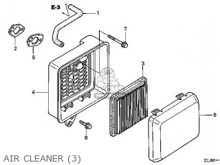 (17231-Z0L-050) COVER,AIR CLEANER