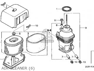 (17231-ZH9-N01) COVER,AIR CLEANER