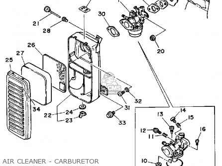 Generator Carburetor Diagram