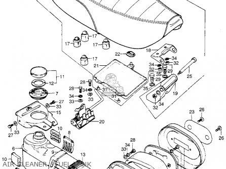 Honda Ct70 K3 Trail 70 1974 Parts