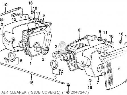 185 in addition Honda Cb 125 Engine Diagram in addition E  09 furthermore Partslist as well E  04. on 1975 honda cb400f