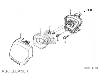(17231-Z0Z-010) COVER,AIR CLEANER