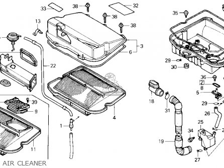 (17225-MN5-010) INTAKE Assembly ,AIR