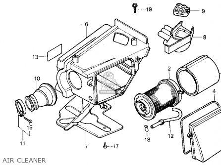 Honda Tlr200 86 Tlr200 Reflex 1986 Parts