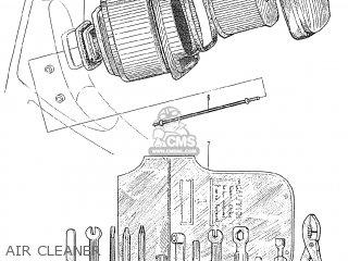 (17231-046-670B) CASE AIR CLEANER