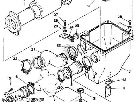 Yamaha 1997 Xt350j Xt350 Dual Purpose Motorcycle Parts