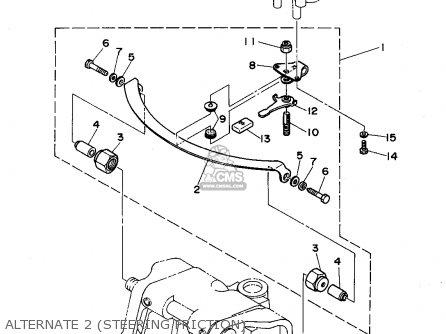 63d4250800 Steering Friction Assy Yamaha