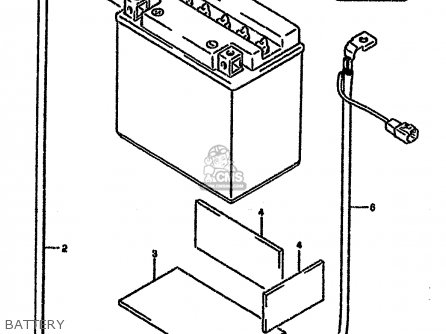 Wire, Battery Minus Lead photo