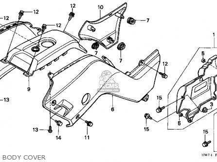 Honda Trx400fw 00 Trx400fw Fourman 2000 Parts