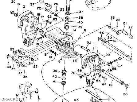Yamaha 1991 P50tlhp P50tlh Outboard Motorcycle Parts