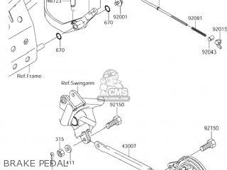 Lever-brake, Pedal photo