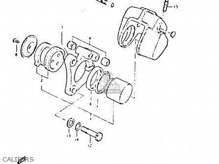 Carrier, Caliper, Right photo